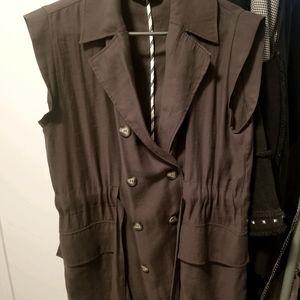 Sleeveless jacket - Zara